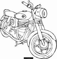 Harley-Davidson Coloring Pages to Print | harley-davidson ...