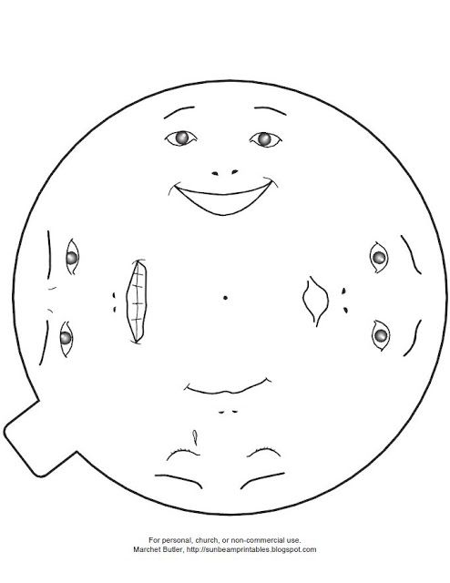 Sunbeam Printables: Emotions Wheel for Lesson 21: I Have