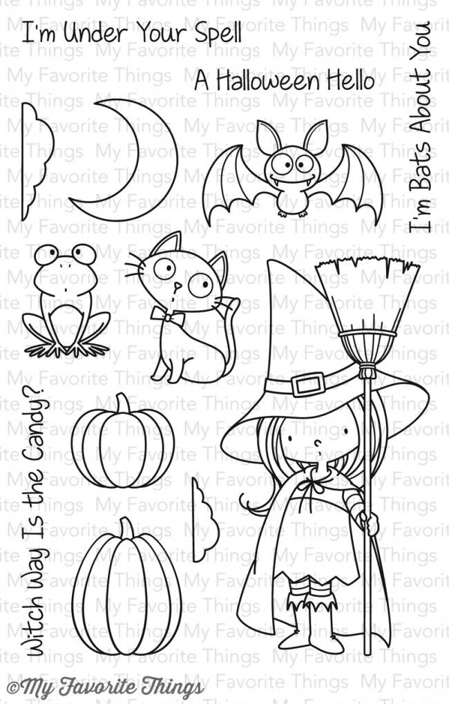 BB Witch Way Is the Candy? My Favorite Things stamps $15