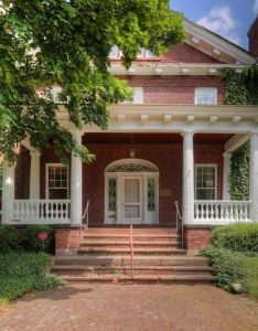 One of  kind in the world with heritage hill neighborhood home including vacant lots traditional brick bedrooms and full bath also colonial revival  grand rapids mi architecture rh pinterest