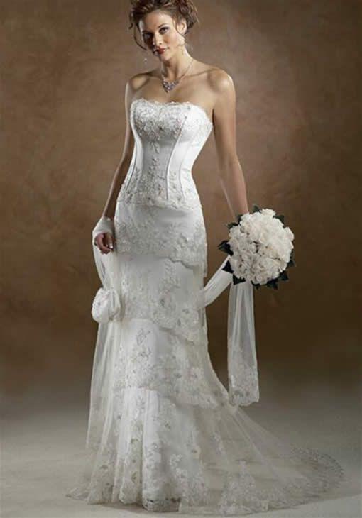Western Wedding Dresses  Romantic western style wedding