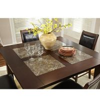 "$560 Granita 54"" counter height dining table with granite"