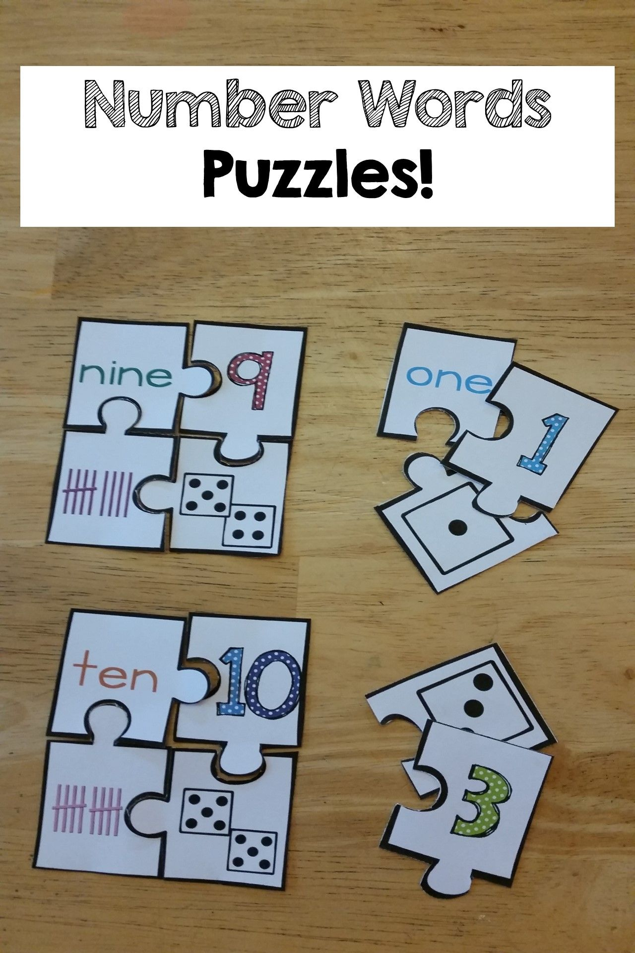Number Words Amp Number Sense Printables And Activities Numbers 0 10