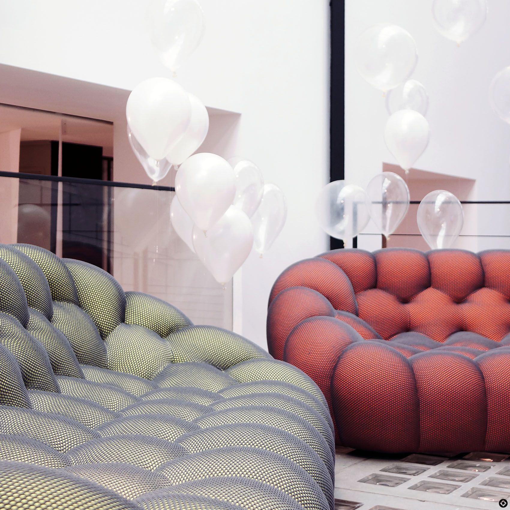 bubble sofa roche bobois cost light grey living room decor spring summer 2016 winter the o 39jays and