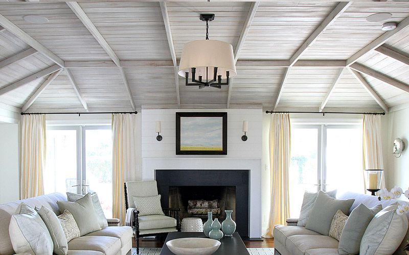 british colonial chair slip covers aged wood, driftwood, white washed wood faux painted ceiling, by stephen floyd design ...