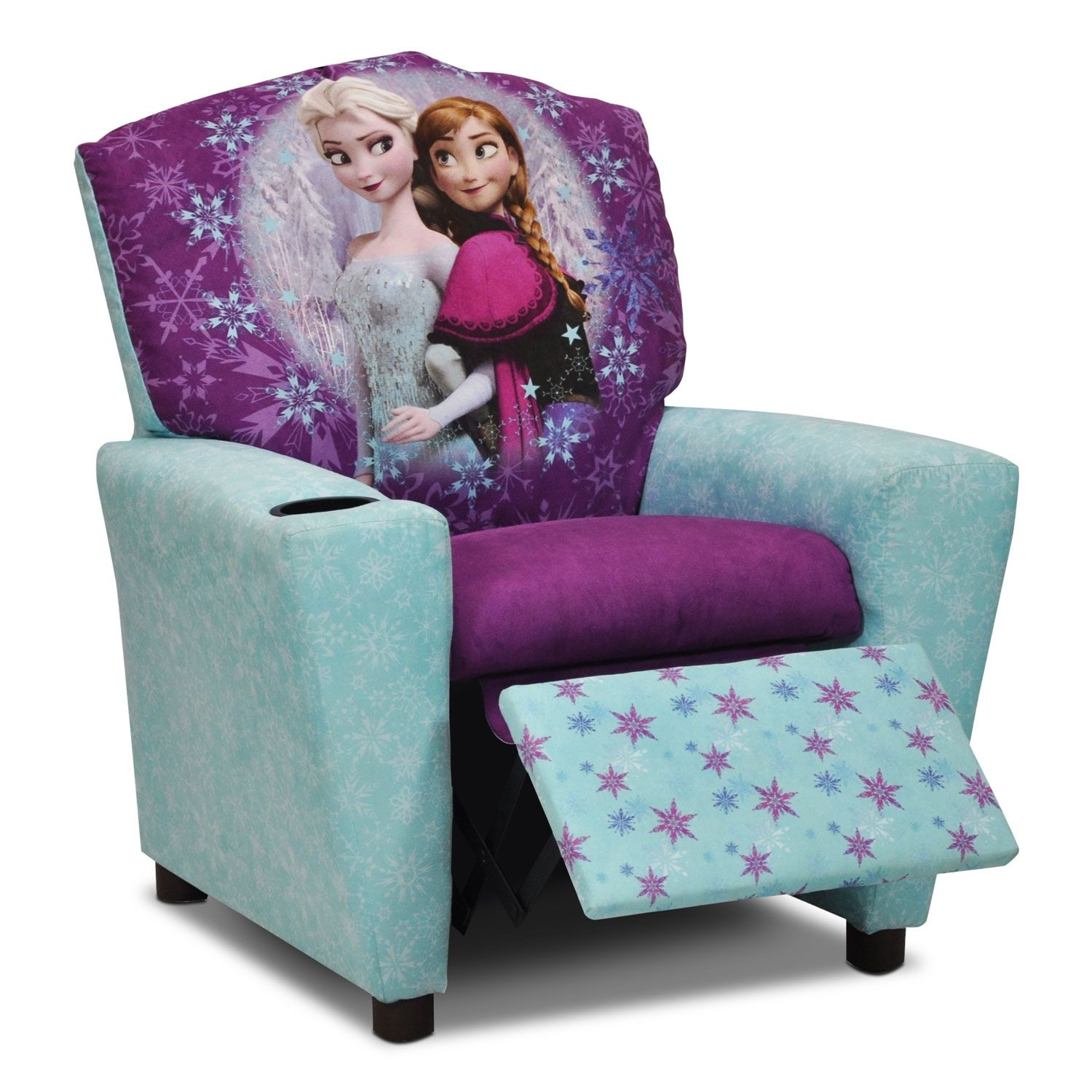 kid recliner chair ki strive living room furniture frozen kids 39 leon 39s