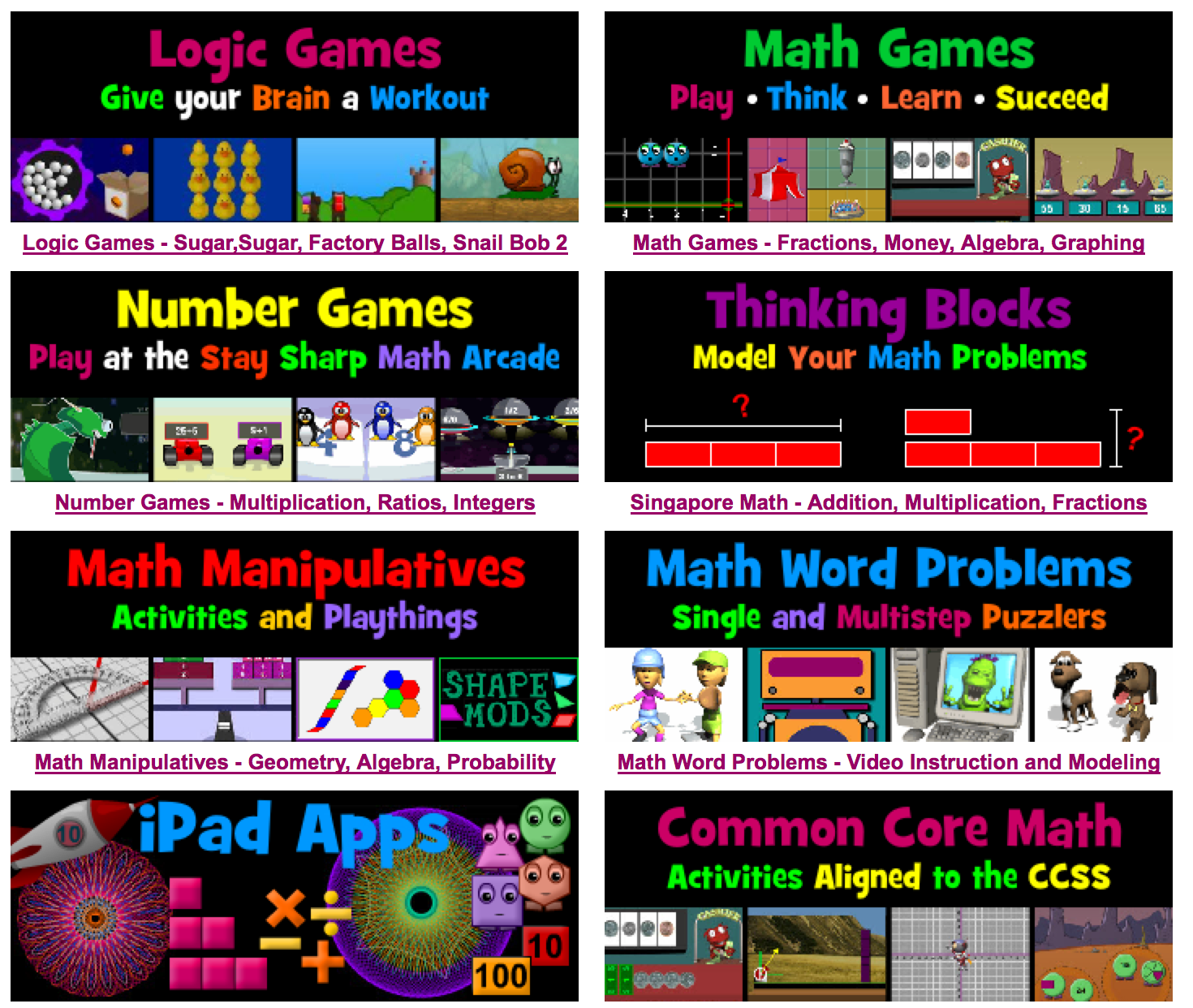 Math Playground Is A Popular Learning Site Filled With