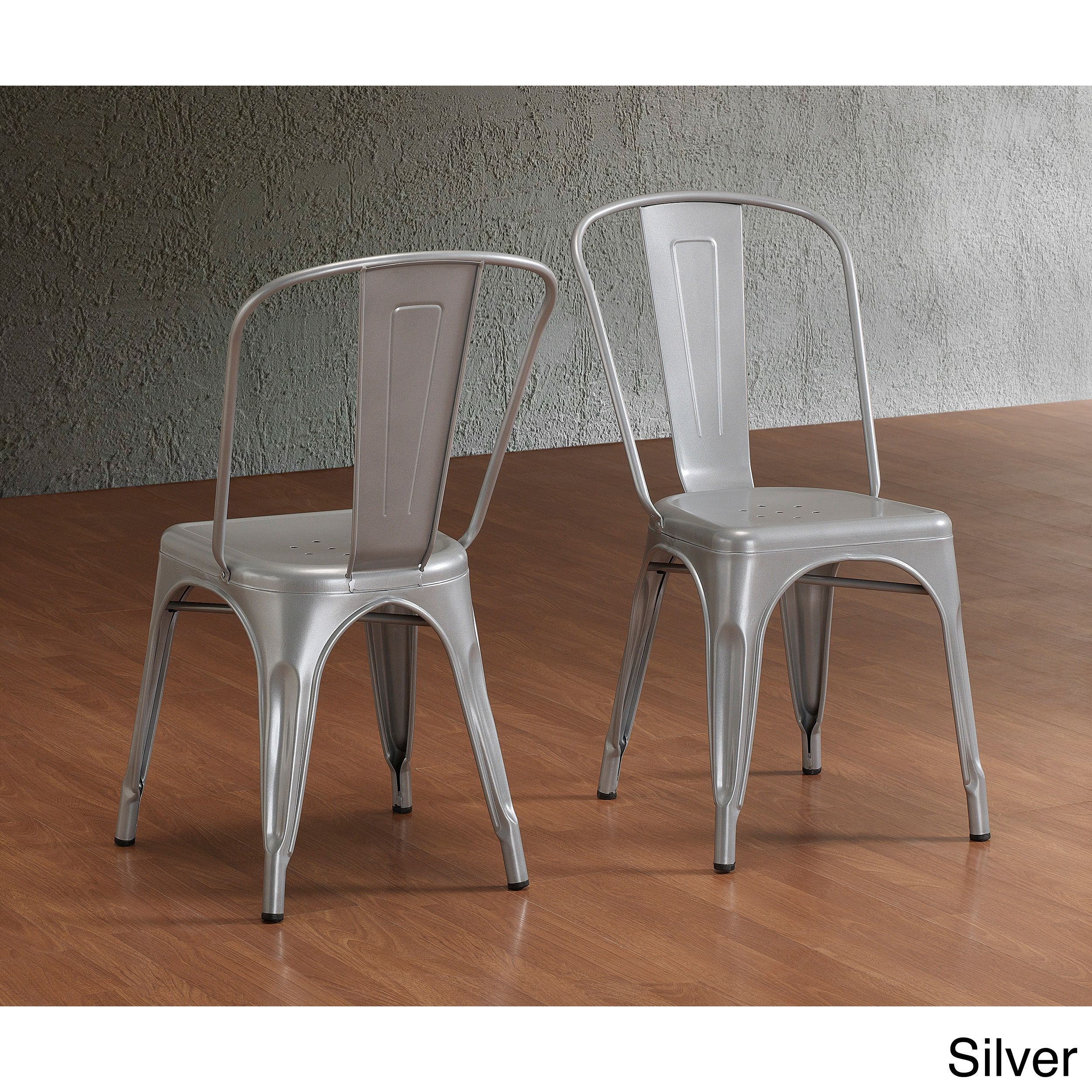retro cafe dining chairs white adirondack wood tabouret bistro steel set of 2 by i love
