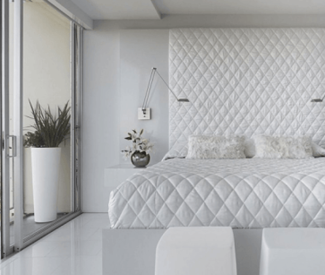 White Bedroom Interior Design Ideas Pictures Create A Clean Calm Sleepinge By Using White Decor In Your Bedroom White Can Be The Perfect Base For