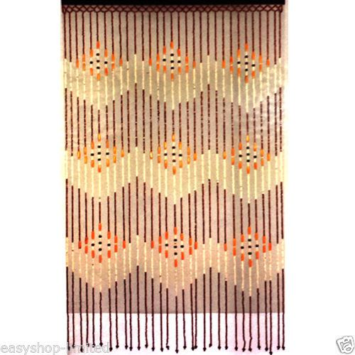 Details About TOP QUALITY BAMBOO BEADED DOOR CURTAINS BLINDS FLY