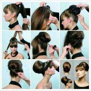 hair updo step - google