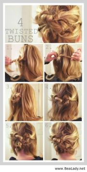 cute hairstyles step-step