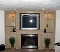 corner Fireplaces & tv for Basements | Entertainment ...