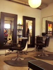 hair styling stations. magdoll's