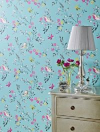 I would totally use this wallpaper! | Home decorations ...