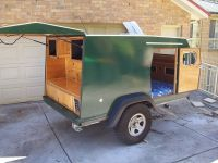 home built camping trailers | Homemade Camper Trailer ...
