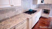 Snow White Granite Kitchen Countertop | Granite, Marble ...