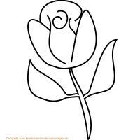 Blumen Malvorlagen | Bilder zum ausmalen | Pinterest ...