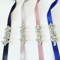 Bridesmaids belt / bridal belt / flower girl sash / simple ...