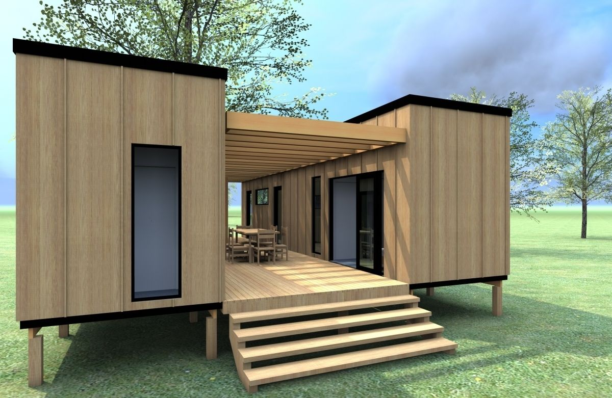 Cargo Container Home Plans In How Much