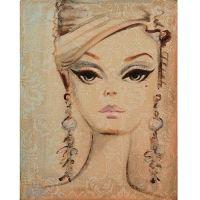 vintage barbie painting I love!!! | Products I Love ...