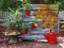 Garden Painted Pallet Shoppe