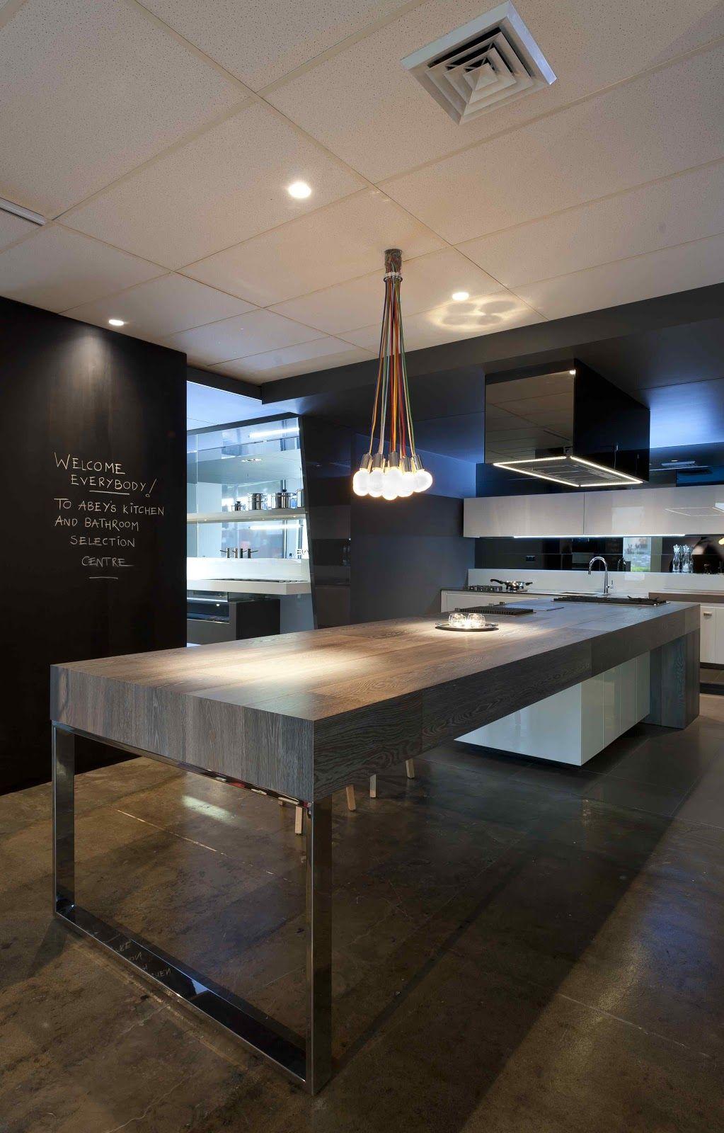 Contemporary Kitchen Island Design
