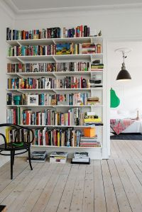 thebitchofbooklr: amandaonwriting: Bookshelves  #