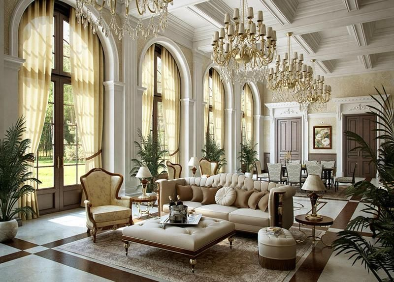 68 Interior Designs For Grand Living Rooms Gold Color Scheme
