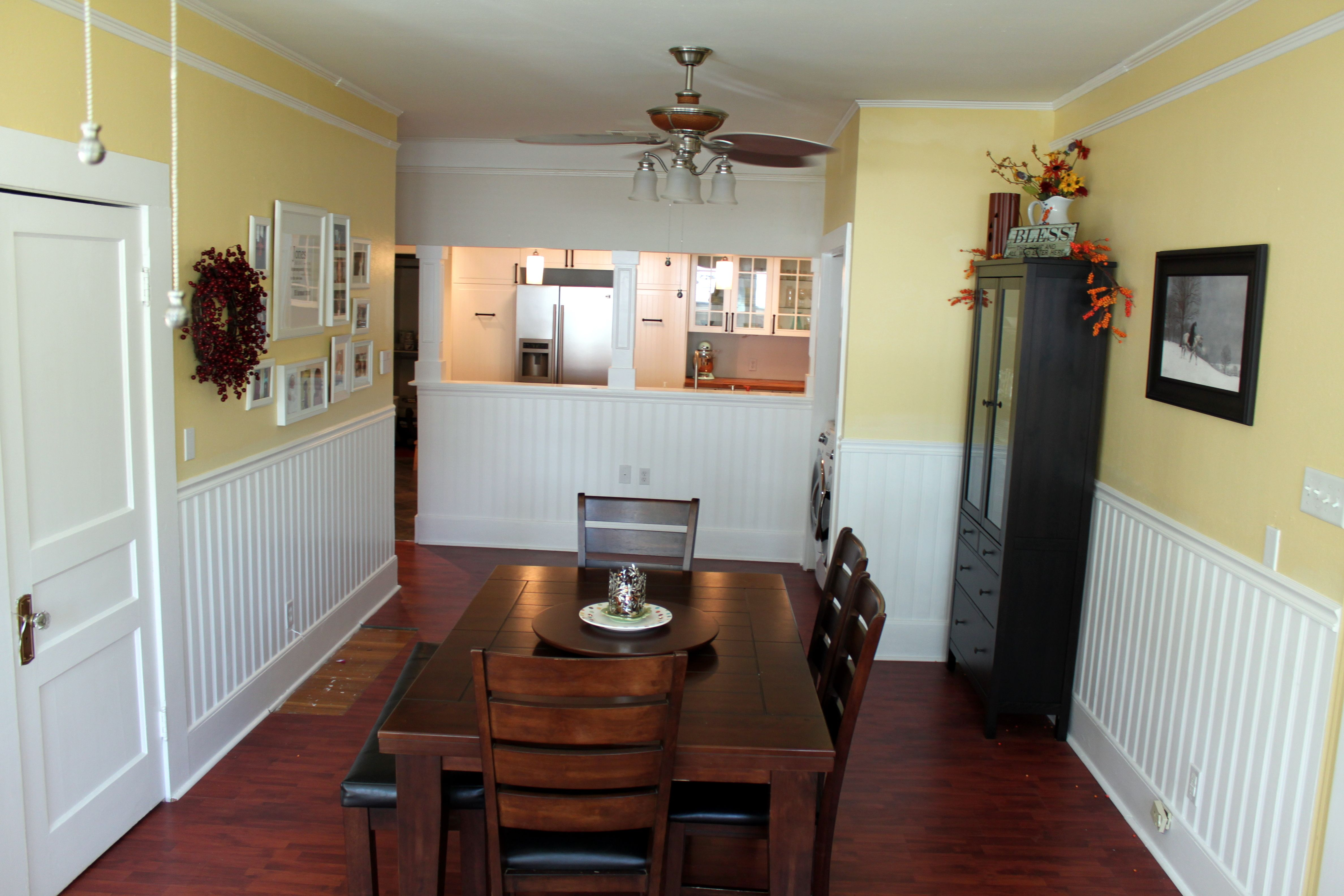 kitchen dining room paint colors white tile inside peek kate 39s and valspar