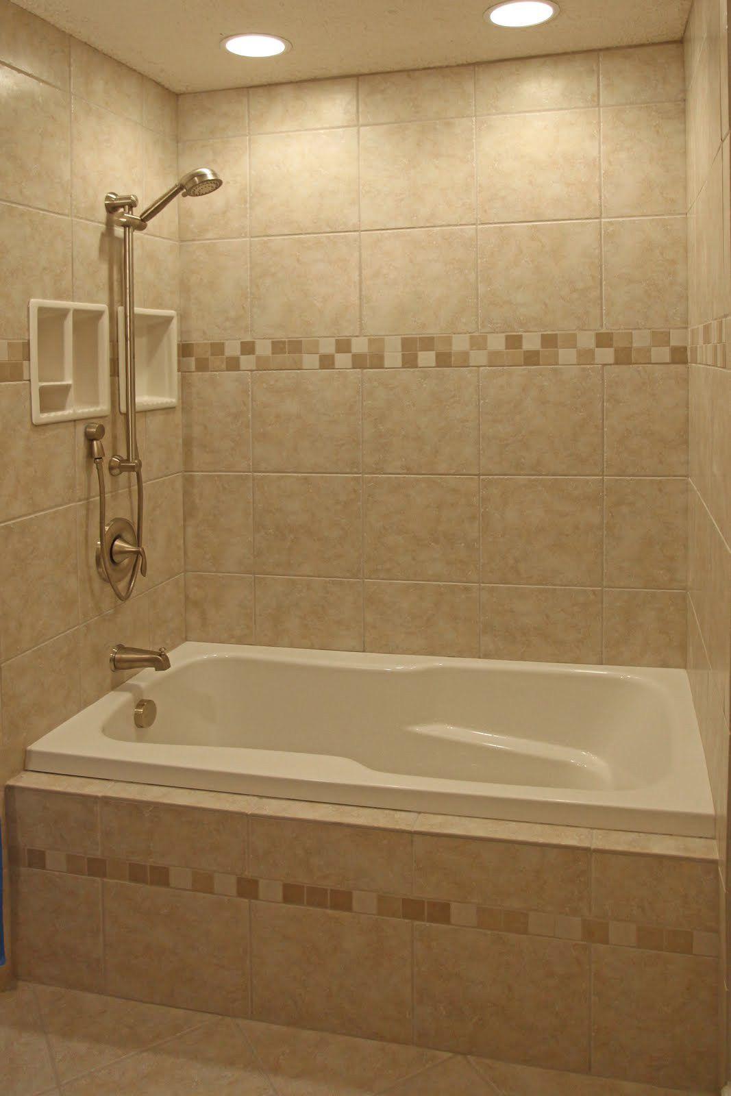 Tile Stripe Could Match Shower Floor Tile Bathroom Redux