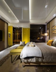 Contemporary home interior design view also ronald lu  partners residential interiors bedrooms pinterest rh