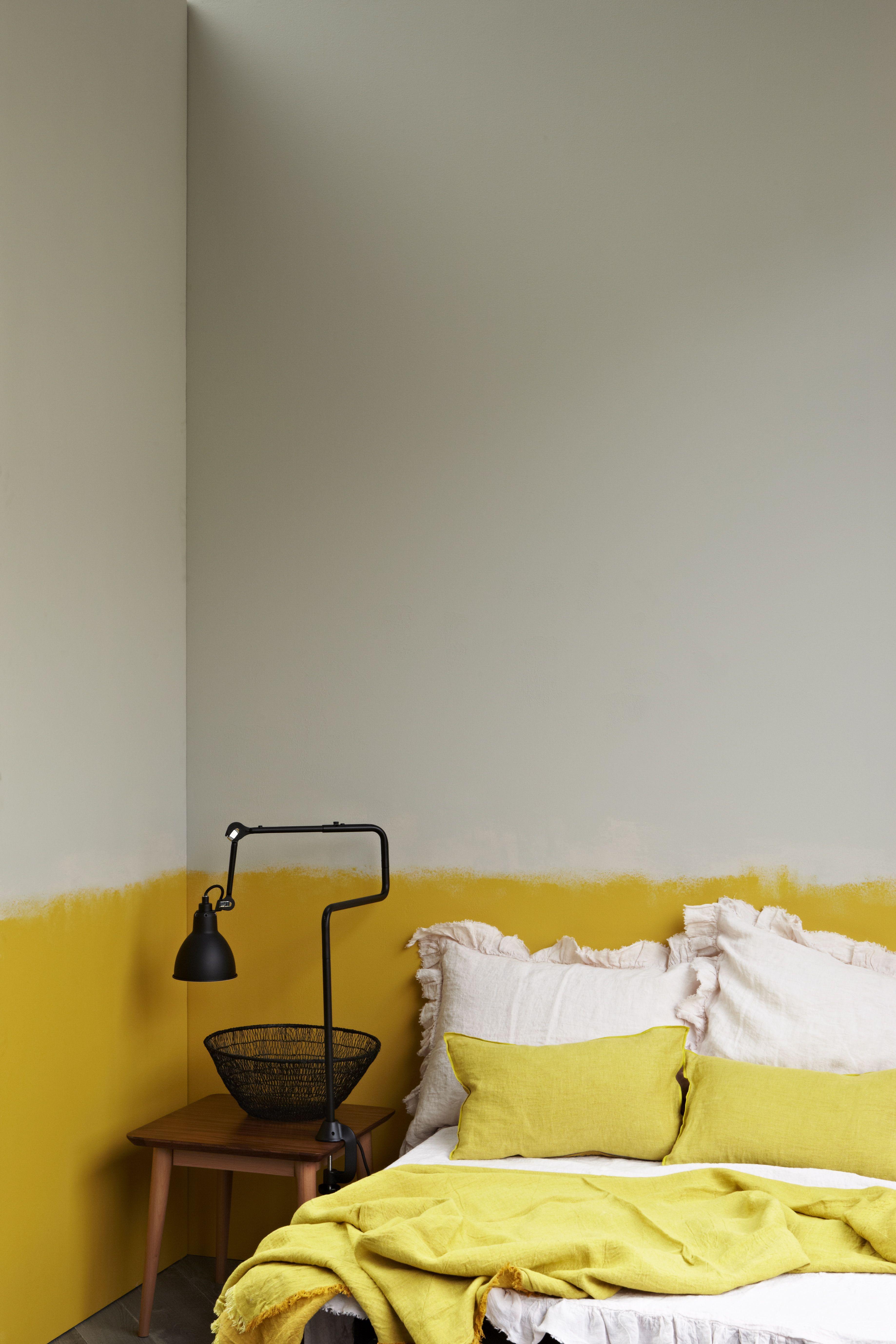 Half painted walls also slaapkamer dip dye huis pinterest wall stripes and bedrooms rh