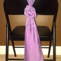 Wedding Chair Covers Pinterest Spotlight Au Rose Sash Tie For Metal Folding Without A