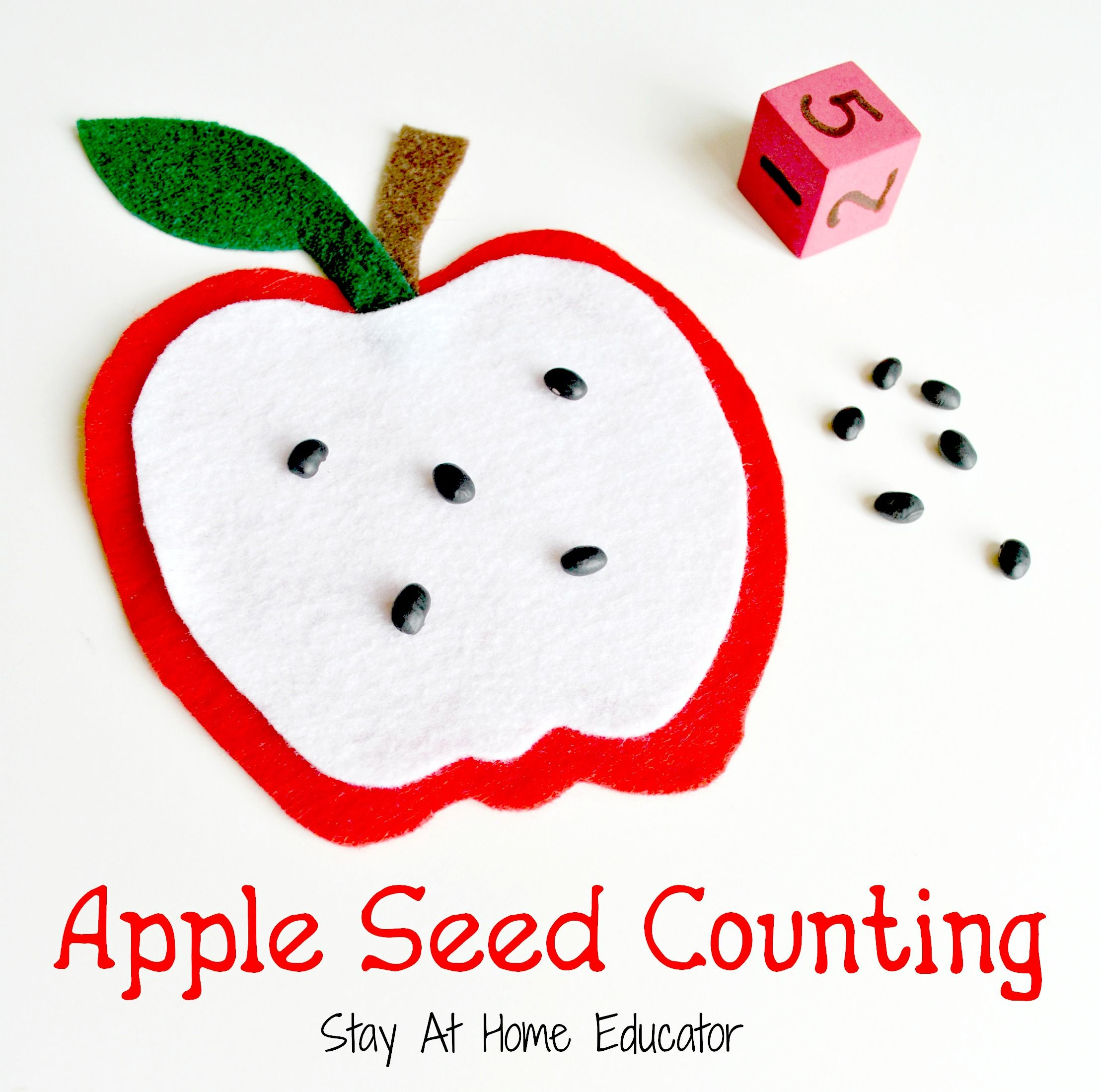 Free Apple Counting And Subtraction Printables For