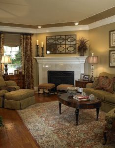 Traditional living room corner fireplaces design pictures remodel decor and ideas also rh pinterest