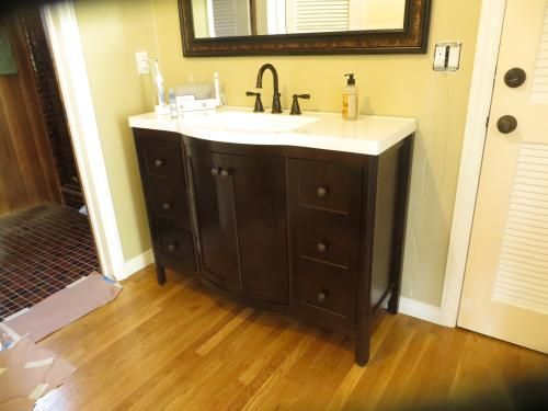 Home Decorators Collection Madeline 48 In Vanity In Chestnut With