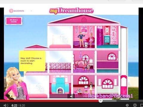Decorate Barbie Dream House Games