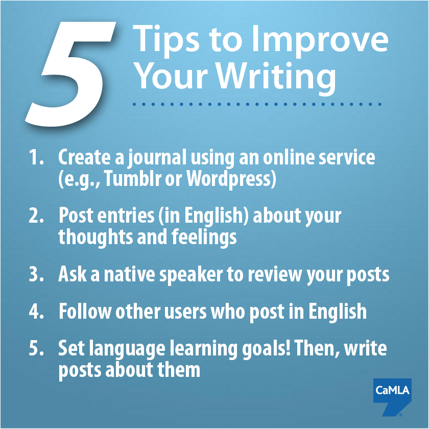 Interested in improving your English writing skills Keeping an online journal can help Here