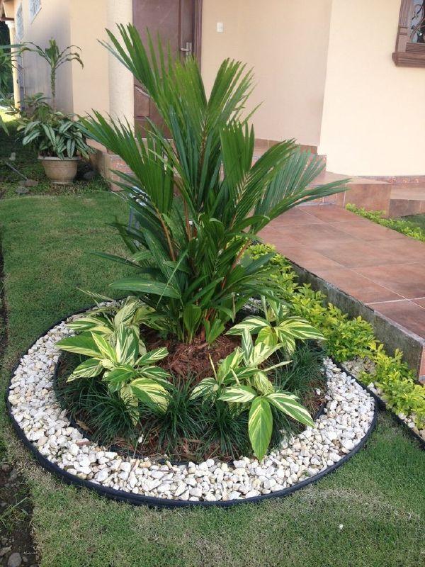 Garden Design Ideas With Pebbles Gardens Designs And Circles