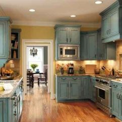 Kitchen Island Outlet Black Table And Chairs Distressed Turquoise Cabinets | Home Decor