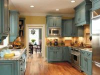 Rustic+Kitchen+Cabinets | search terms rustic turquoise ...