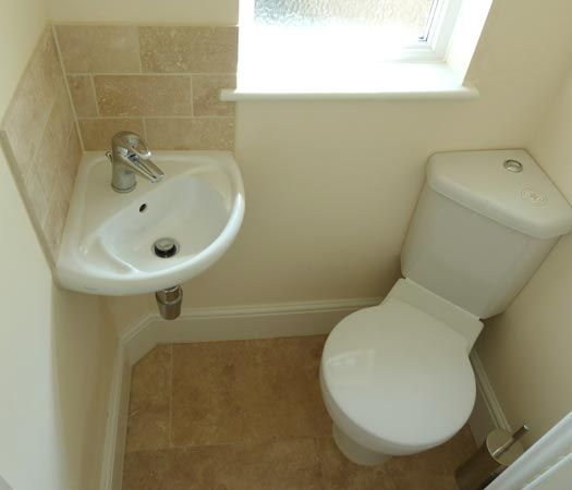 folding chair enclosure cheap living room compact bathroom- corner sink and toilet | bathroom ideas pinterest ...