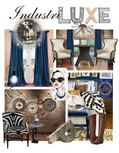 Glamorously distressed  luxury warehouse loft by thesouthernsnowflake liked on polyvore featuring also rh pinterest