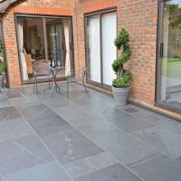 Image result for slate patio slabs | Patio ideas ...