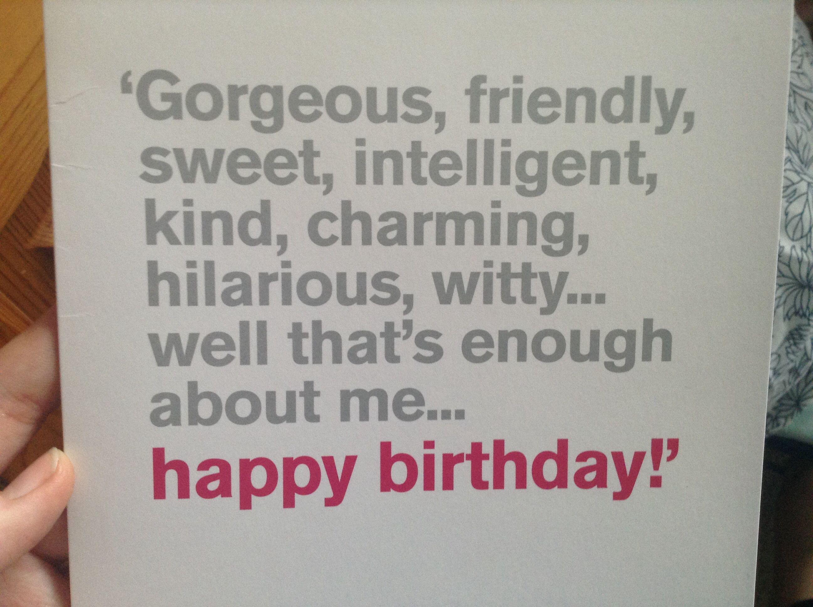 Funny Happy Birthday Quote Words Of Wisdom Pinterest
