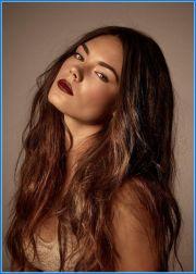 hair color olive skin and hazel
