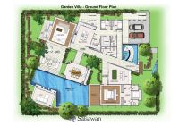 Saisawan - Garden Villas Ground Floor Plan | House Plans ...