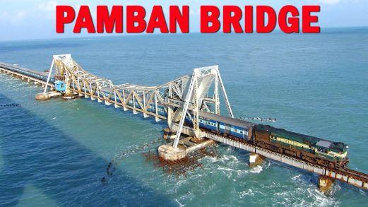 Image result for pamban bridge