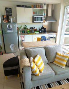 Deco interiors also estilo  diseno en pocos metros un depto pequeno buenos aires rh pinterest